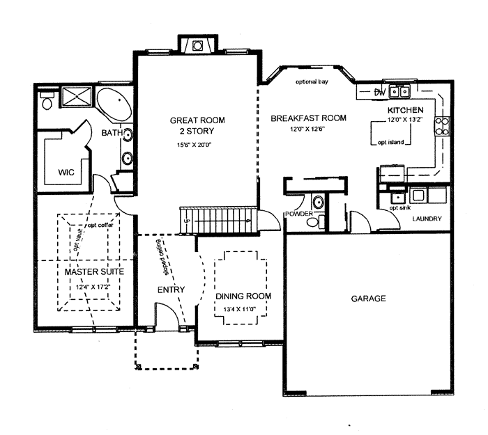Executive homes building new homes and communities in st for 110 charles street east floor plan